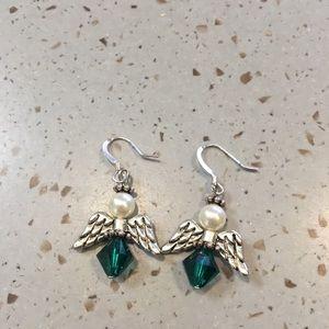 Ladies Angel Earrings